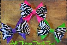 Best Duck Tape Crafts / by Sadie Lankford