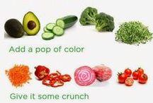 Clean Eating Vegetarian Meals / by Sadie Lankford