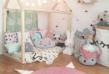 Kids bedroom decor / Inspirations for kids rooms
