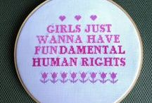 Take a stand / * Feminism * Body image * Body acceptance * Politics * Mental Health * Advocacy and awareness!!!!   / by Heidi Hunter