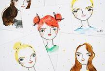 Illustration / Pretty drawn things