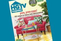 HGTV Magazine / Take a tour through the pages of HGTV Magazine and fall in love with all the DIY projects, budget decorating ideas, and fabulous finds for your home.   / by HGTV