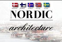 Architecture: Nordic / by Meranda Devan