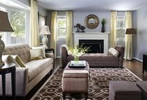 HGTV Living Rooms / Tips, tricks, and eye candy from rooms ranging from posh to practical. / by HGTV