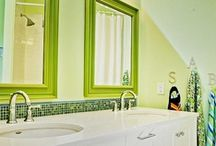 HGTV Bathrooms / Bathe yourself in gorgeous design, from the tiniest powder rooms to seriously over-the-top spas. / by HGTV