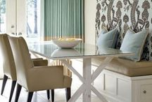 HGTV Dining Rooms / Whether you are mad for mid-century or tried-and-true traditional, dine in high style. / by HGTV
