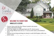 Flyer/Brochure Design - Real Estate / Samples of flyers we have created for agents all over the country!