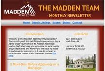 Email Blast Design - Real Estate / Samples of custom HTML email blast templates that we have developed.