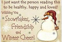 Christmas and Winter dreams / Christmas is our favorite Holiday & we enjoy the beauty of Winter  / by Barbara Schmid