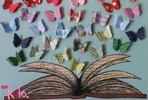 Lectura, libros: ilustración y fotografía / by macerher