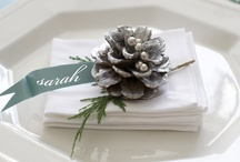 Holiday Entertaining / This year, set a table they won't forget with beautiful centerpieces and amazing food.