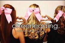 Cheerleader. ❤ / by Makenzie Hahn