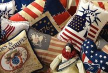 Stars and stripes / Fourth of July is a special holiday for our family & special friends ending with Spectacular fireworks / by Barbara Schmid