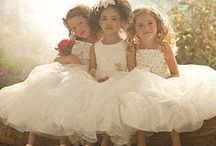 Flower Girl Hairstyles, Headpieces and Dresses / Your Flower Girl is a very special little person in your wedding party.  She is adored by all when she walks down the aisle just before the Bride.  See our website at www.DreamWeddingPlanners.com and call us at 734.582.0200 for a complimentary consultation.