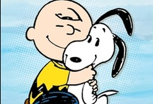 Wisdom of Snoopy & the Peanut Gang / Charles Schultz's loveable animated creations always make me smile! / by Barbara Schmid