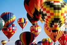 Come fly with me! / Hot Air Balloons-on my bucket list to fly in one some day! / by Barbara Schmid