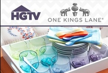 HGTV + One Kings Lane / Shop HGTV-Inspired products from One Kings Lane and look for special promotions. / by HGTV