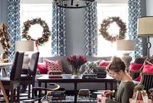 Holiday House / Our designers have created a rustic, wintry escape full of Christmas decorations and holiday entertaining ideas you can try, too.