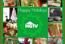 Holiday Decorating Trends / Join designer Casey Noble and HGTV as we share this year's big holiday trends, decorating ideas, and simple handmade projects…everything you need to make your home merry and bright.   Sponsored by Chase Freedom.   / by HGTV