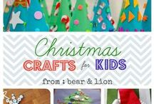Christmas☃crafts for kids!☃ / ☃The best memories your kids will have, won't be of the gifts you bought, but the time you spent with them.☃