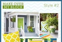 Make Over My Block / HGTV Magazine wants to make over your block! One group of neighbors will get a curb appeal update and be featured in an upcoming issue. Help us choose the design style inspiration by repinning your favorite images below. For more information or to apply, visit hgtv.com/makeovermyblock.