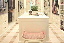 new closet / by Danielle 🐝💄💋✈️