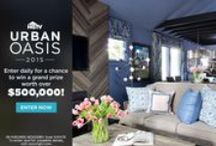 HGTV Urban Oasis 2015 / HGTV Urban Oasis is heading to Asheville, North Carolina! This year we've renovated a charming bungalow in the heart of this quirky, vibrant mountain city. Join us right here on Thursday, August 6 from 8-10 pm EST for an exclusive tour!  / by HGTV
