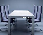 MONTAN Konferenztisch / MONTAN Konfernztisch - exklusive Möbel aus Eisen und Stahl mit dem Charme des Ruhrgebietes.