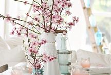 Cherry Blossom DIY + Style / Cherry Blossom, Cherry Blossoms theme event party wedding