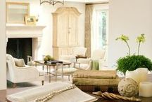 Interior Design White / Interior design white and neutral textures and woven baskets / by Kathryn Myrick @   K Rossi & Company