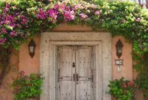 Doors / Doors in every color , size and shape....Possibly obsessed.  / by Kathryn Myrick @   K Rossi & Company