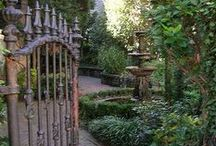 Gardens, Courtyards and walks / The happiest place on earth for me.... / by Kathryn Myrick @   K Rossi & Company