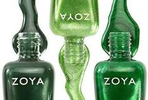 Green Nail Polish / Find your green nail polish here...  Zoya is the new color of Fashion! http://www.zoya.com