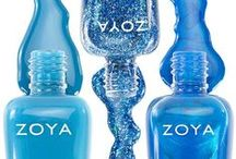 Blue Nail Polish / Be bold in blue nail polish! Not sure what blue nail polish is right you? Zoya makes it easy to find the right blue for you? by Zoya comes in metallics, frost, glitters, mattes and creams! Find all of Zoya's hottest blue nail polish on this page! #BlueNailPolish