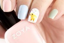 Spring & Easter Nail Art / Looking for Spring and/or Easter nail art inspiration? Here are some amazing spring-perfect colors and nail art featuring Zoya Nail Polish!