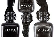 Black Nail Polish / Black nail polish can be little black dress for your nails! Black nail polish by Zoya is available in metallic, cream and matte finishes that are available in cool, warm and neutral tones to perfectly compliment your skin tone, outfits and accessories. #blacknailpolish