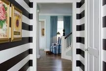 Decorating-black, white / Falling love with black and white.