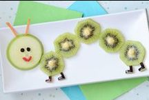 Kiwi for Kids! / Kiwi is the perfect snack for kids. Just cut in half and give them a spoon to scoop out the super nutritious and delicious kiwi.