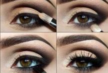 """Eye Spy  ͡°    ͡° / Eye make-up tips, tricks, and """"eyedeas""""."""