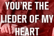 Classical Valentines / Musical terms of endearment for your punny valentine.