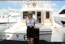 Boat Shows / The Bertram Yacht Team came out to the Yacht and Brokerage Show in Miami Beach, FL, plus the Fort Lauderdale International Boat Show.