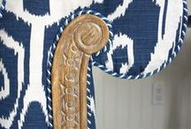 Interior Design Blue / Blue and white interior design  / by Kathryn Myrick @   K Rossi & Company