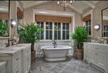 Interior Design Bathrooms / Bathrooms  / by Kathryn Myrick @   K Rossi & Company