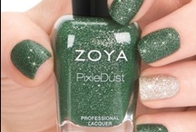 """Zoya PixieDust Nail Polish - Fall 2013 / Zoya PixieDust Nail Polish Collection: Infused with magic & wonder! Six new """"must-have"""" textured nail polish hues - we call them them Zoya PixieDust!  Apply 1-3 thin coats of polish. Allow product to dry down completely between coats. No need for base or top coat. Extra long-wearing formula. http://www.zoya.com/content/38/category/Pixie_Dust_Nail_Polish_Matte_Metallic.html  / by Zoya Nail Polish"""