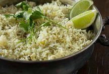 Rice, Orzo, Quinoa