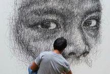 Charcoal / Art / Charcoal on paper