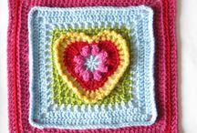 Crocheting: granny's