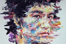 Bruce Lee  / oil on canvas