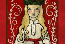 Folk art/craft designs / by Layla Frey