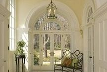 grand entrance ideas / entryway, stairs, hall / by Aimee Whetstine